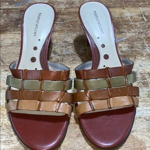 6.5 M Leather Sandals